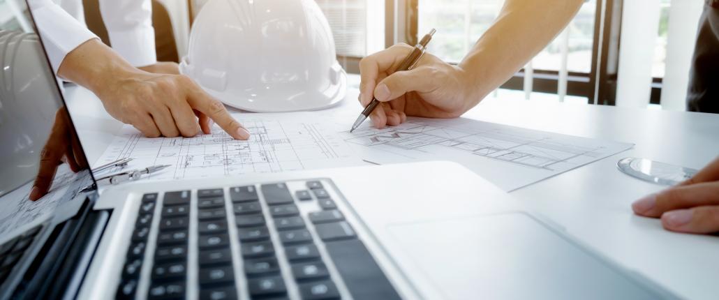 Baustellenplanung